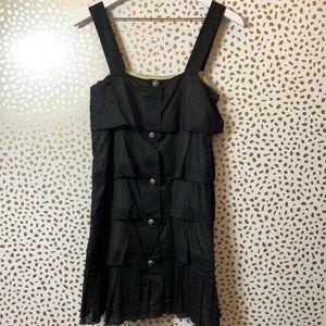 ALICE + OLIVIA TIER black dress SIZE XS